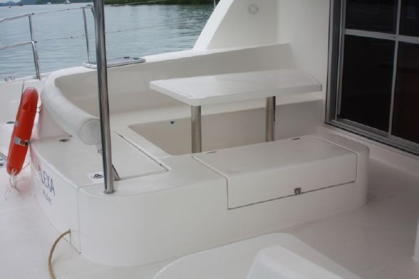 Used Sail Catamaran for Sale 2012 Leopard 44 Deck & Equipment